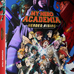 My Hero Academia: Heroes Rising and SAO: Alicization Blu-Ray, DVD Release on Monday