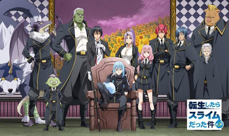 That Time I Got Reincarnated as a Slime Anime Season 2 to Premiere on January 5