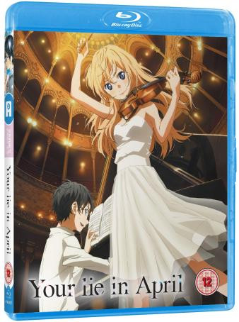 Your Lie in April Gets Blu-ray Release