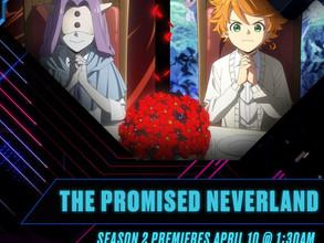 The Promised Neverland Anime Season 2 Premieres on Toonami on April 10