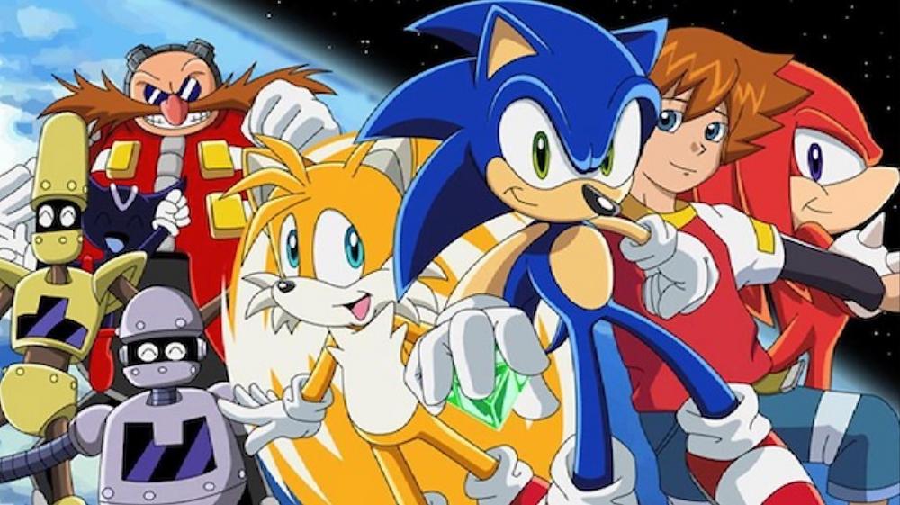 Sonic X Visual - Nostalgic Anime