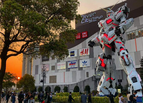 A Real Life-Sized Moving Gundam In Japan!
