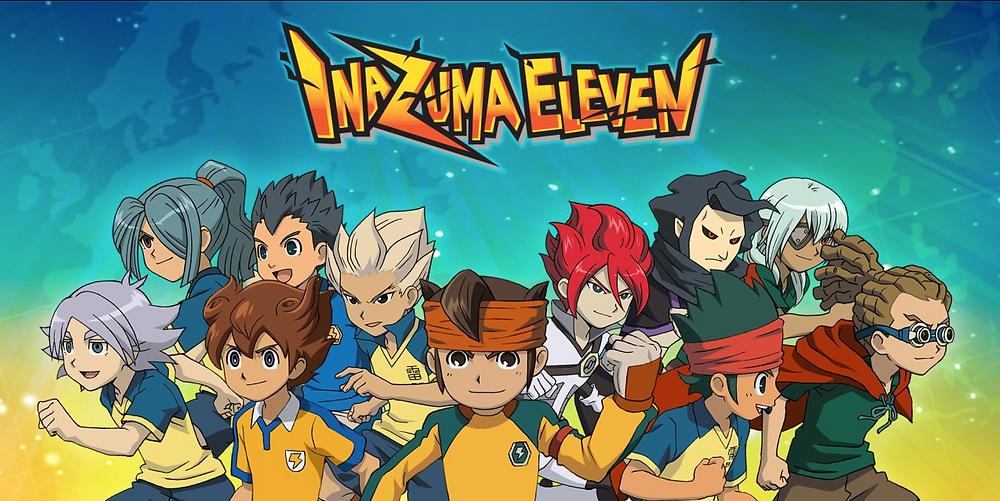 Inazuma Eleven Visual - Nostalgic Anime
