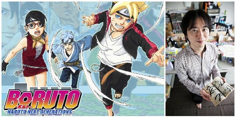 Masashi Kishimoto to take over the writing of Boruto Manga