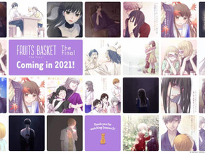 The Final Season of Fruits Basket Anime Announced For 2021
