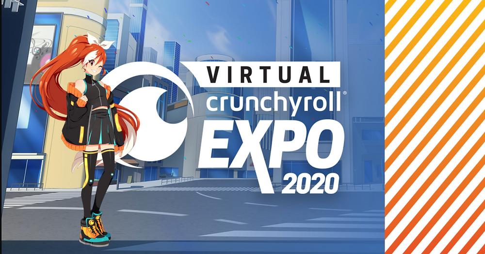 Virtual Crunchyroll Expo 2020 cover visual