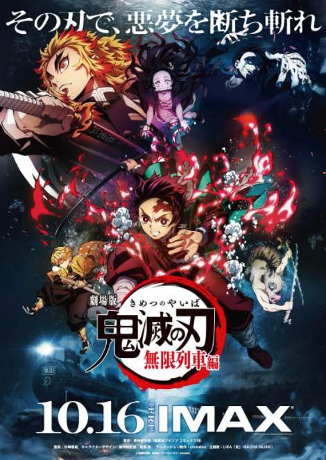 Demon Slayer: Kimitsu no Yaiba Film Rise to 5th in All-Time Highest Earning Film in Japan