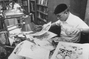 Osamu Tezuka's career as a manga artist
