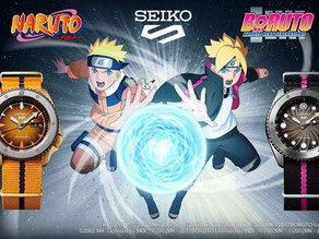 Naruto and Boruto themed sports watches special limited edition to be launched by Seiko Sports