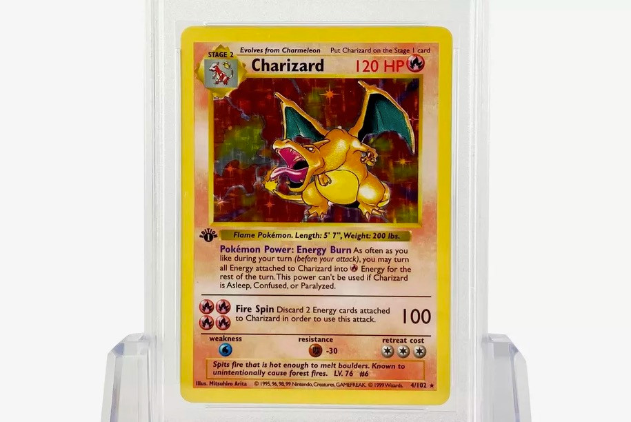 Why 1st Gen Pokémon Charizard Card Got Sold For $183,000 in Auction?