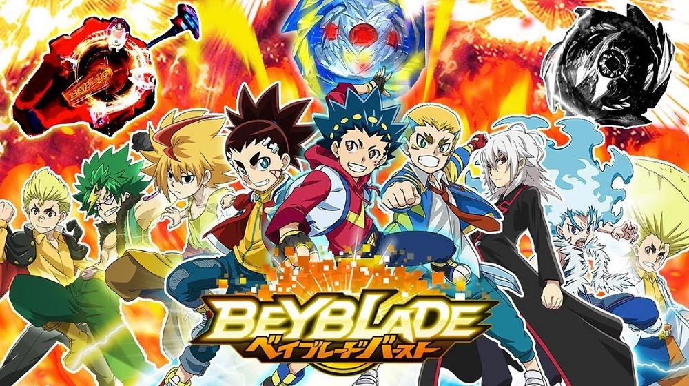 Beyblade Visual - Nostalgic Anime