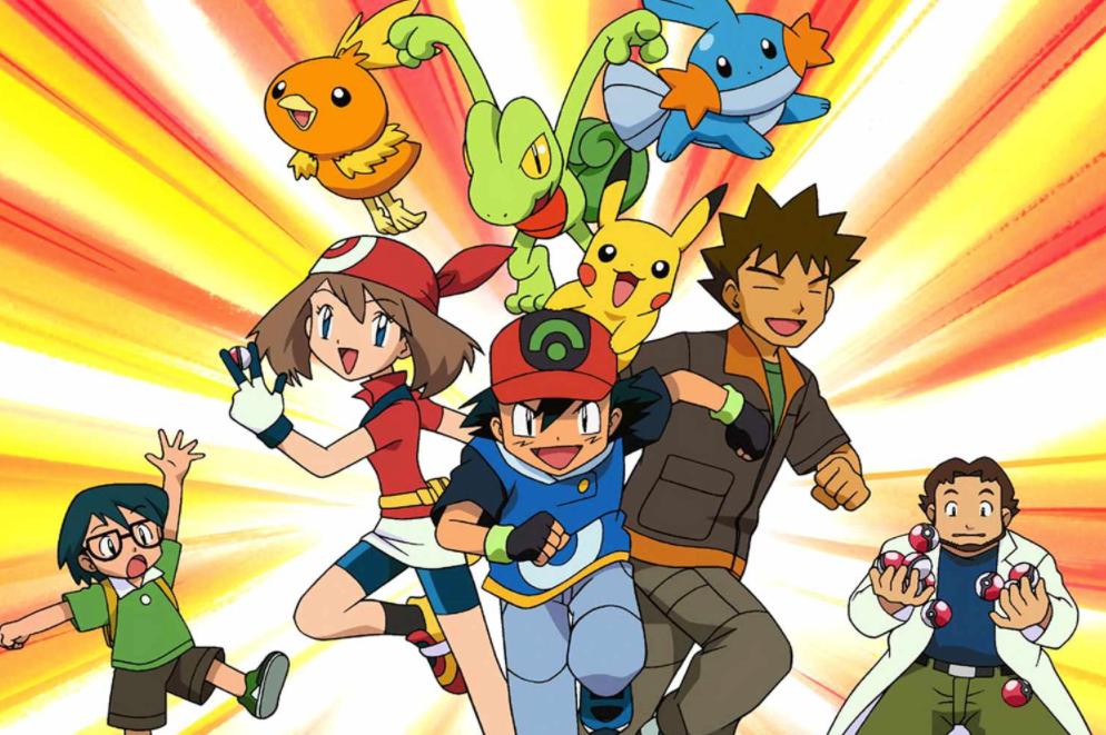 Pokemon Visual - Nostalgic Anime