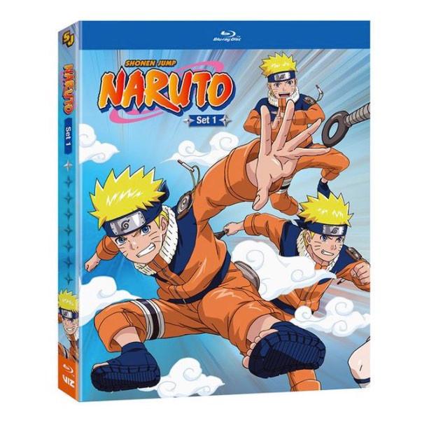 Original Naruto Anime to Release on Blu-ray Disc
