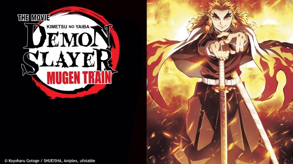 Kimetsu no Yaiba Movie: Mugen Ressha-hen a.k.k Demon Slayer: Infinity Train movie poster