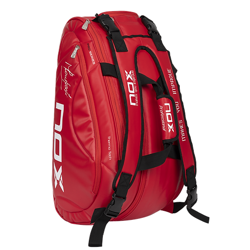 Sac de padel Nox thermo tour rouge