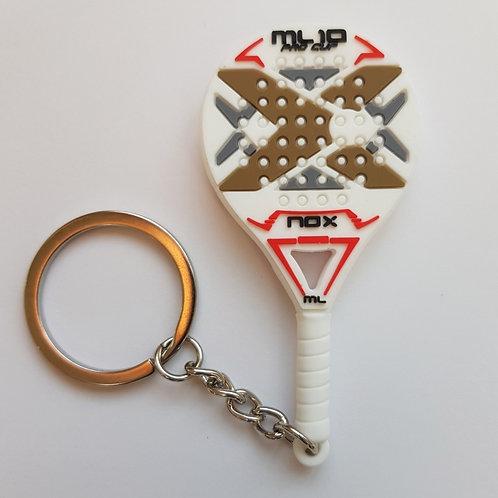 Porte Clef gomme raquette ML1 Pro Cup Nox