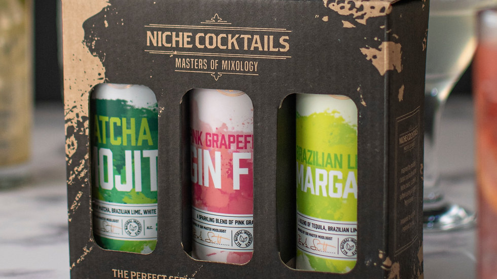 Cocktail Gift Pack, Our Pick of Niche Cocktails Finest