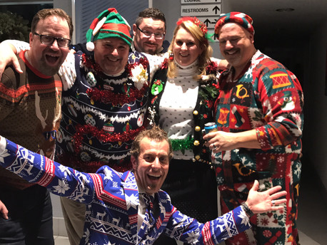 Ugly Christmas Sweater Office Party