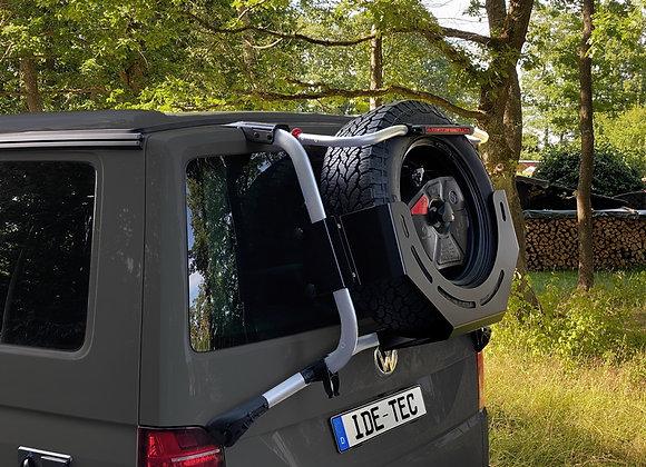Umrüstsatz / Ersatzradträger für original VW T6 Heckträger