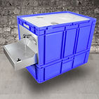 EuroWash _ tragbares Waschbecken blau.jp