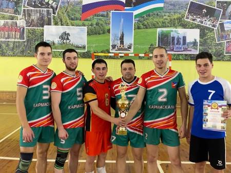 Прошел чемпионат района по волейболу среди сельских советов
