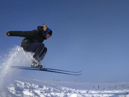 Проводится Спартакиада района по лыжным гонкам