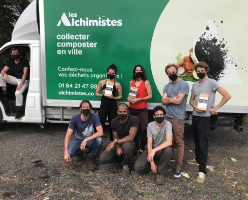 Les Alchimistes collecter et composter en ville