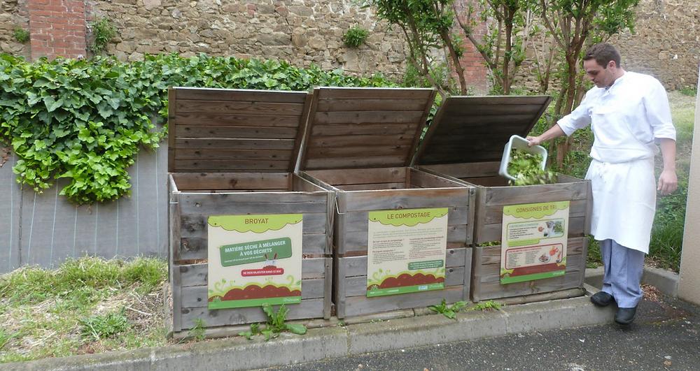 compostage, restaurant