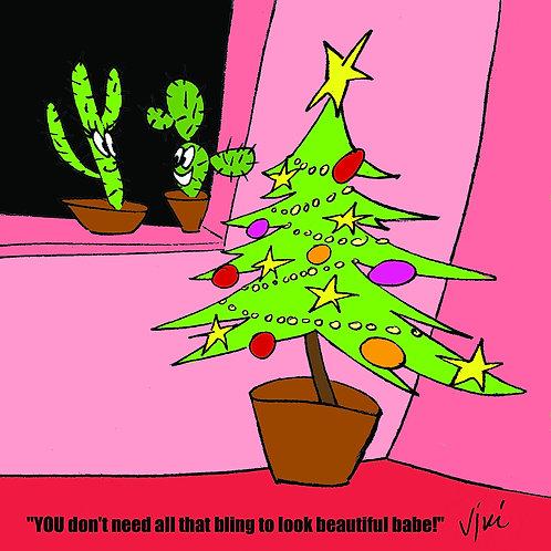 CATUS CHRISTMAS Christmas Greeting Card