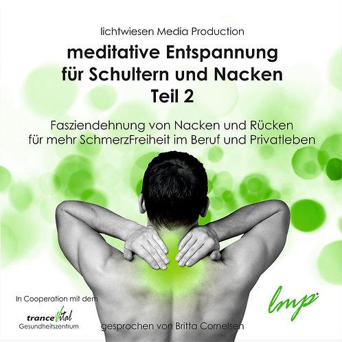Meditative Muskelentspannung für Schulter und Nacken Teil 2