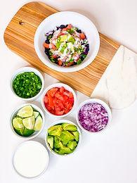 Chicken Verde Bowl