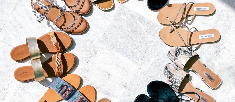 Spring Sandal Round-Up