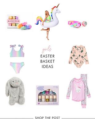 Kid's Easter Basket Ideas