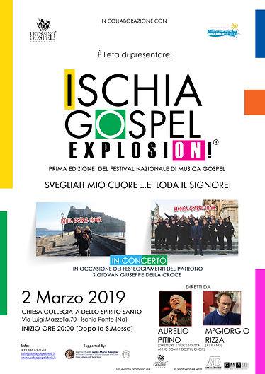 2019_Ischia Gospel Explosion!_Locandina.
