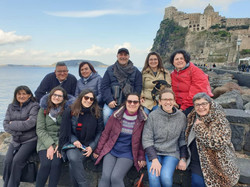 2019 - Alcuni componenti di Ischia Gospel Choir & Modica Gospel Choir - momento di relax