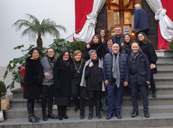2019 - Ischia Gospel Choir & Modica Gospel Choir davanti alla Collegiata dello Spirito Santo