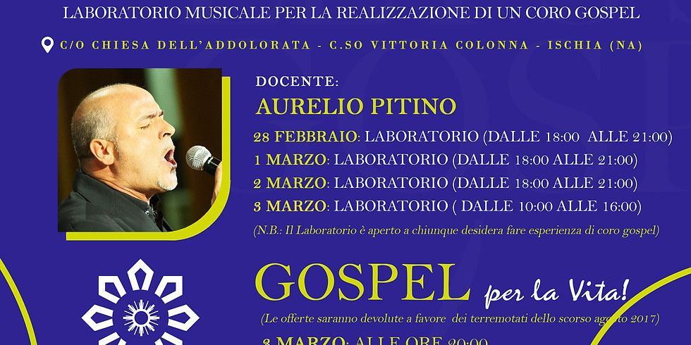 Gospel per la Vita!