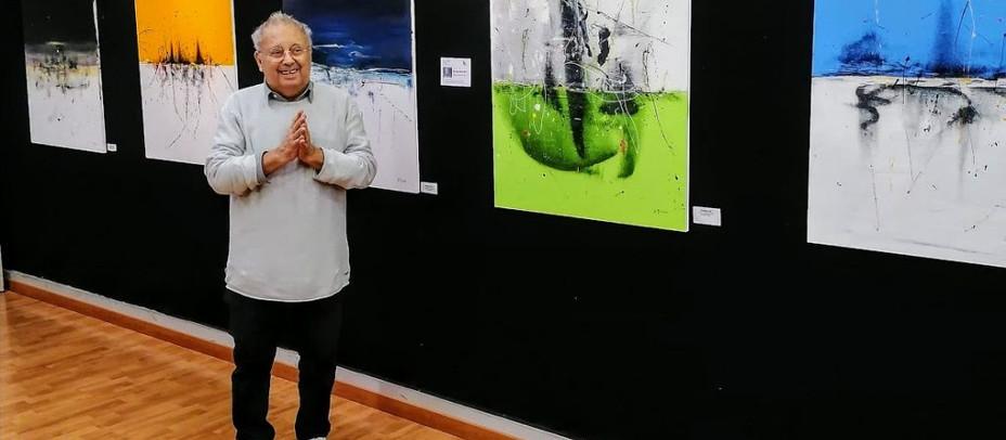 Vino e Arte a Villa Cornarea per il gradito ritorno dell'Artista Graziano Rey