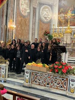 Febbraio 2020 - Ischia Gospel Choir & Roma Gospel Choir foto di gruppo dopo il concerto