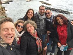 Febbraio 2020 - Passeggiando...alcuni coristi di Ischia Gospel Choir & Roma Gospel Choir