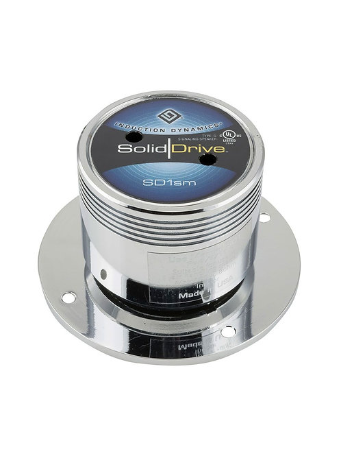 SolidDrive SD-1 Wood Surface Mount Actuator in Chrome