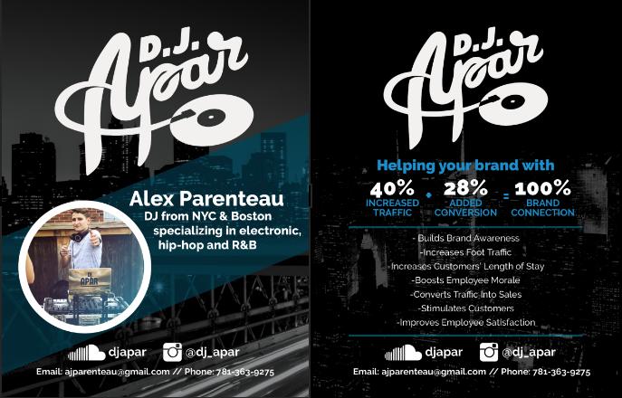 DJ Apar flyers