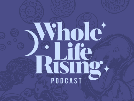 Whole Life Rising Podcast Logo