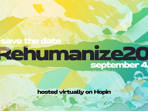 2021 Rehumanize Conference Branding