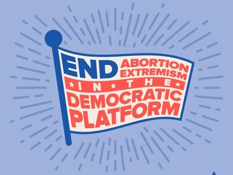 """End Abortion Extremism"" Campaign Logo"