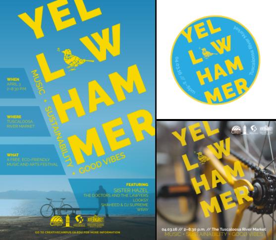 Yellowhammer Festival branding
