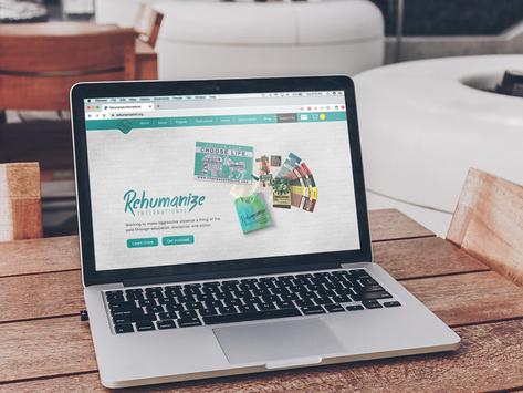 Rehumanize International website re-design