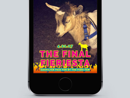 The Final Fieriesta Snapchat Geofilter