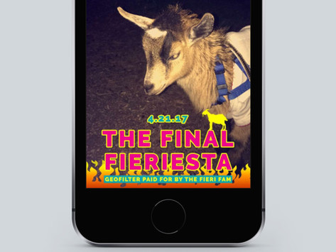 The Final Fieriesta Snapchat Geofilter