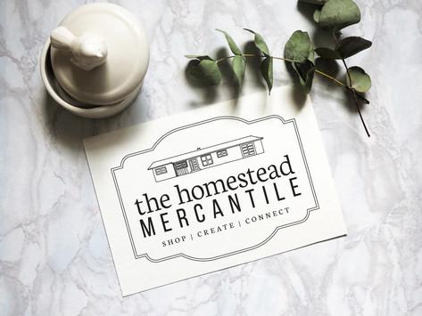 The Homestead Mercantile Logo